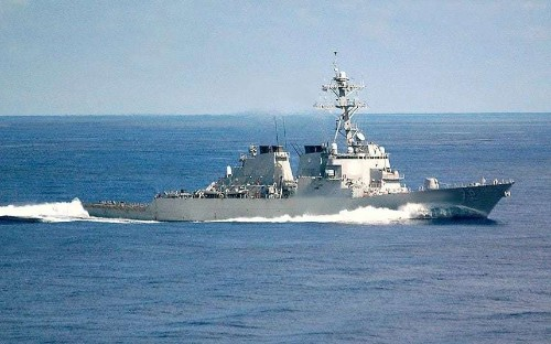 US fires 'warning shots' at Iranian patrol boat amid plans for American Navy build up