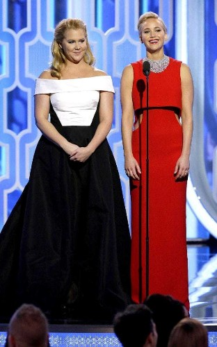 Jennifer Lawrence on why she and Amy Schumer didn't dress the same at The Golden Globes