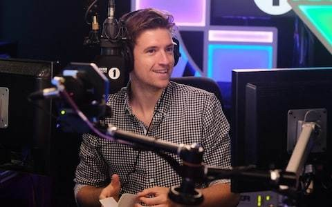 Cricket fan Greg James might be radio's best all-rounder
