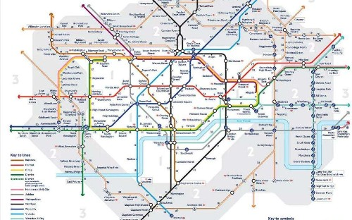 Central line tube strike: The useful walking map to help commuters facing disruption