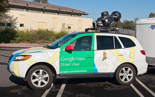 Google fined over Street View image of woman's cleavage