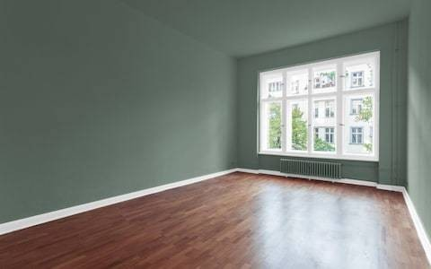 Painting your walls olive green makes the room feel warmer, study finds