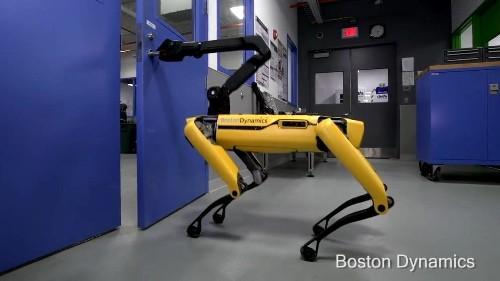 Boston Dynamics unveils robodog that can open doors