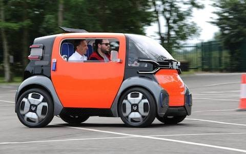 Citroen Ami One tested: could this tiny French concept car be the future of urban mobility?