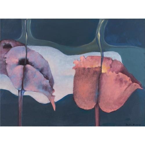 Dorothea Tanning's brazen, bizarre flower paintings