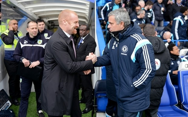 Burnley manager Sean Dyche delivers stinging rebuke to Chelsea's Jose Mourinho over Ashley Barnes tackle