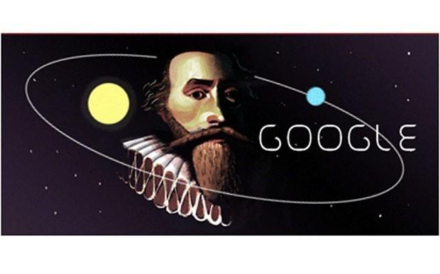 Johannes Kepler honoured in Google Doodle for 442nd birthday