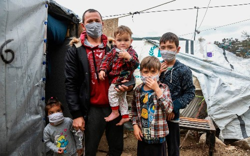 Greece records first coronavirus case among the tens of thousands of migrants crammed into its squalid camps