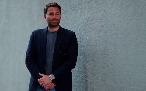 Eddie Hearn interview: 'I grew up thinking I was a hard nut, but I was a pansy'