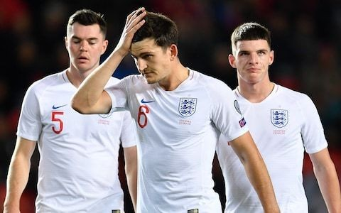 Harry Maguire suggests low confidence from Manchester United form is infecting England performances