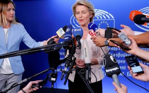 Next European Commission president tells MEPs Irish border backstop 'will stay'
