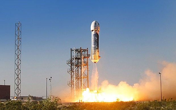 Jeff Bezos plans to send humans into space next year
