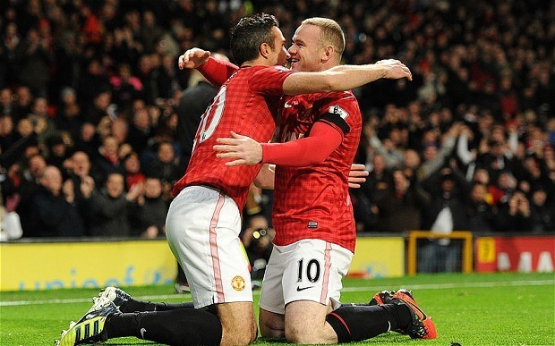 Wayne Rooney and Robin van Persie could return for Manchester United against Cardiff City