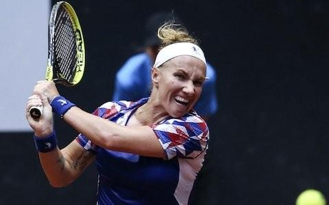 Svetlana Kuznetsova marks comeback with a win as Kyle Edmund progresses in Marrakesh