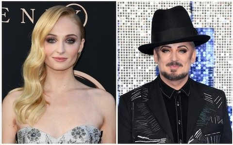 Sophie Turner is 'so down' to play young Boy George in biopic