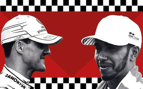 After a sixth world title, should Lewis Hamilton be considered greater than seven-time winner Michael Schumacher?