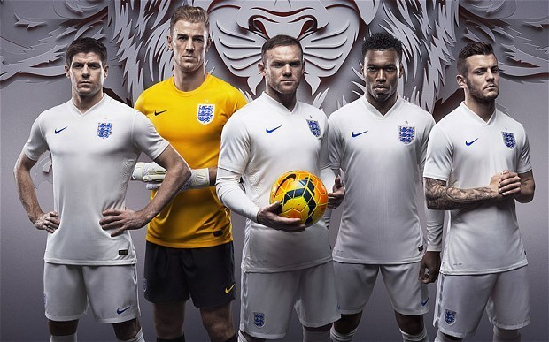 Fans angry as England's World Cup kit sells for £90