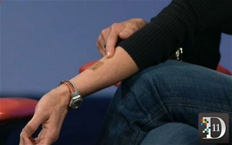 Google: Motorola's tattoos could replace passwords