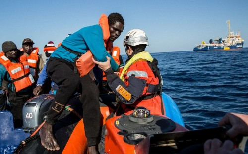 Around 170 migrants missing in the Mediterranean after two shipwrecks