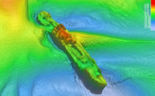 Ghostly 117-year-old shipwreck briefly emerges for first time on sonar