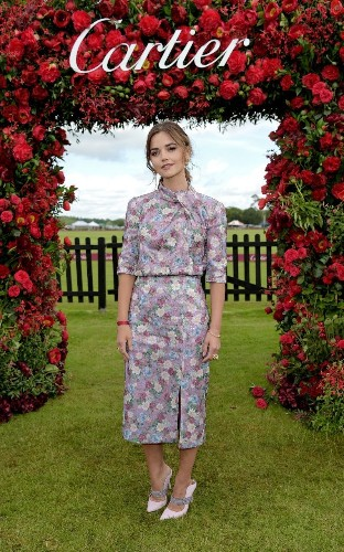 Jenna Coleman and Eleanor Tomlinson lead the best dressed at the Cartier Queen's Cup Polo Final