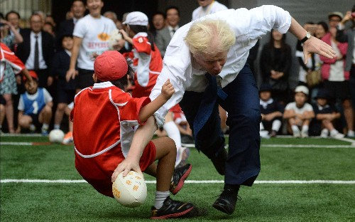 Boris Johnson: the best and funniest photographs of the former Foreign Secretary, in pictures