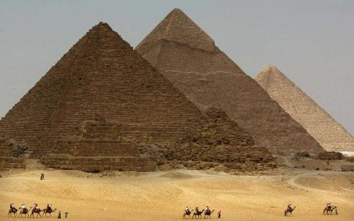 Scientists discover two mysterious 'chambers' in the Great Pyramid of Giza