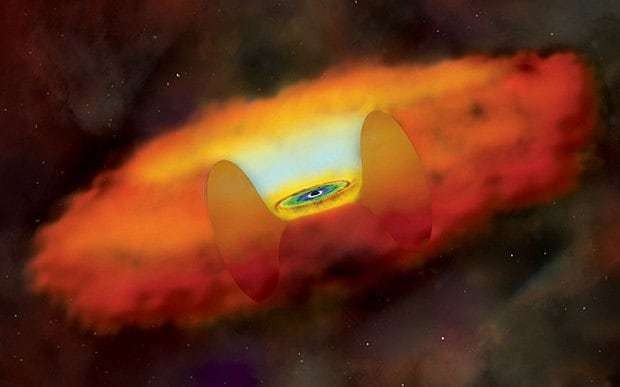 Astronomers find 'teeny supermassive black hole'