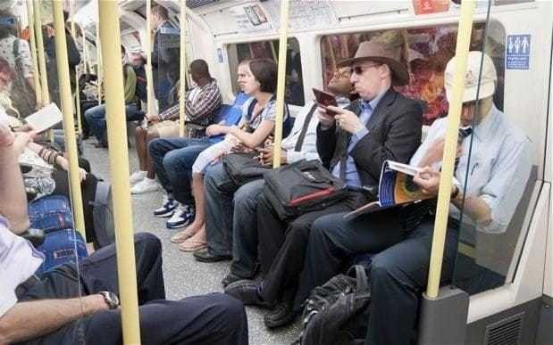 Manspreading: Ruining women's commutes for 98 years