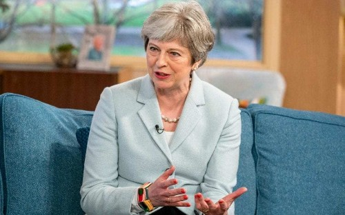 Theresa May forced to deny that she fears being 'stabbed in the back' by Tory rivals