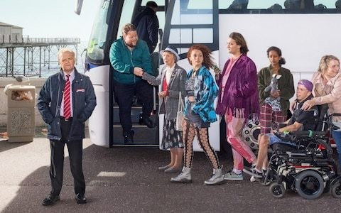 Don't Forget the Driver, episode 1, review: this post-Brexit comedy is all bitter, no sweet
