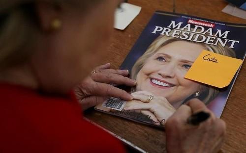 Newsweek recalls 125,000 copies of its souvenir Madam President issue