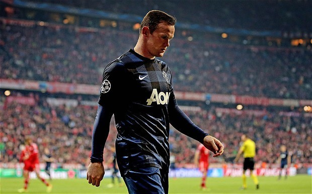 Bayern Munich v Manchester United: Wayne Rooney fails to deliver on another big European occasion