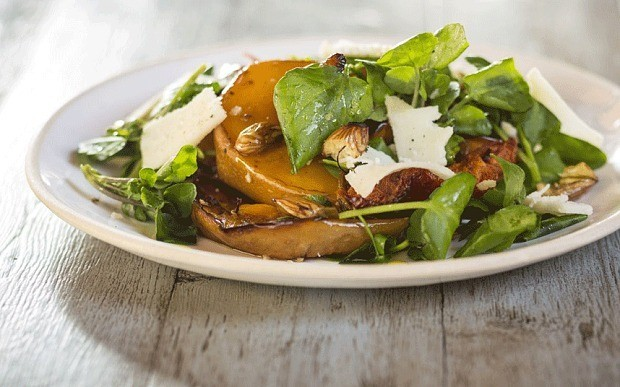 Delicious autumn salad recipes