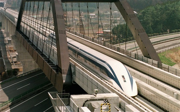 Japan offers to lend US half the cost of 'Super Maglev' train between Washington and Baltimore