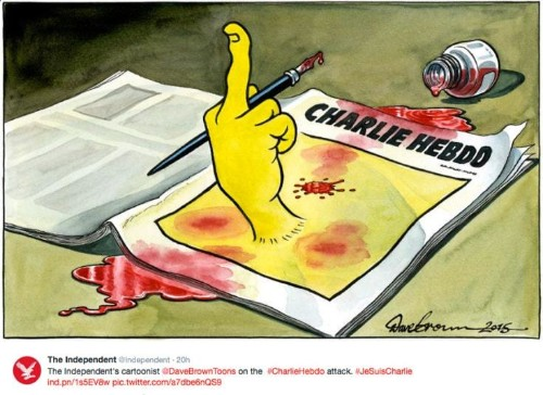 Cartoonists show solidarity after Paris Charlie Hebdo attack, in pictures - Telegraph