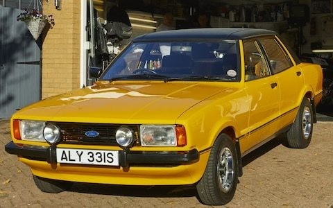 UK's rarest cars: 1978 Ford Cortina Mk4 2.3S, one of only two left on British roads