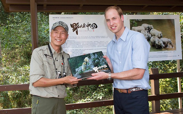 Prince William to speak out against wildlife trade as China's President Xi arrives in London