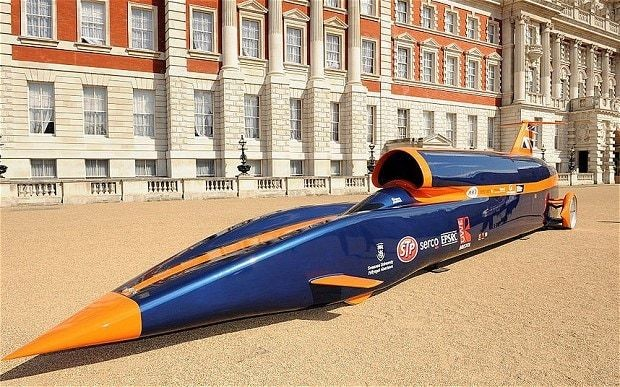 The Bloodhound project: five steps to 1,000mph