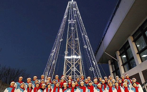 South Korea building giant Christmas tree on border to annoy North