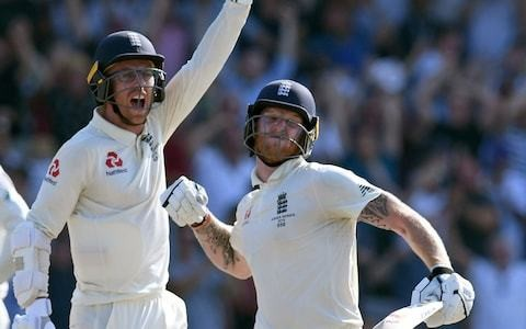 Wiping his glasses, resolute Jack Leach was the perfect foil for Ben Stokes