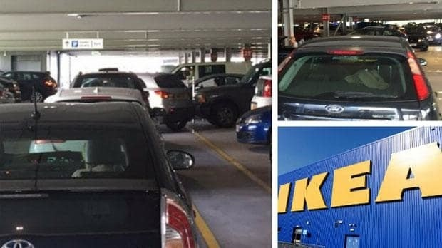 Ikea Reading staff hand out bottles of water as customers stuck in car park of new store for four hours