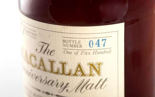 Rare Scotch whisky prices soar 40pc in a year