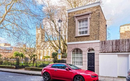 One of London's smallest houses is on sale for £600k - and it's only 290 square feet