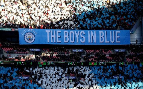 Man City fans furious after potential title-decider at Wembley is moved to Saturday night 'graveyard' slot