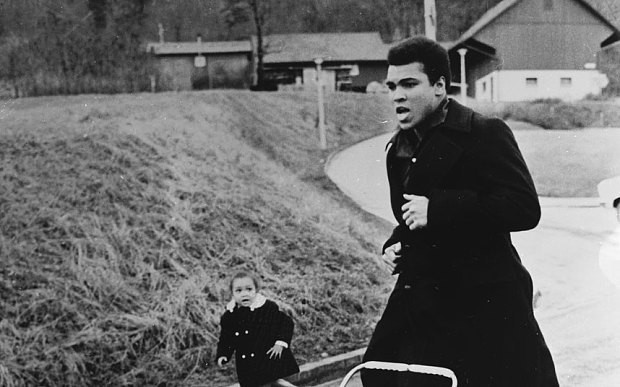 Maryum Ali remembers training with her father, Muhammad Ali