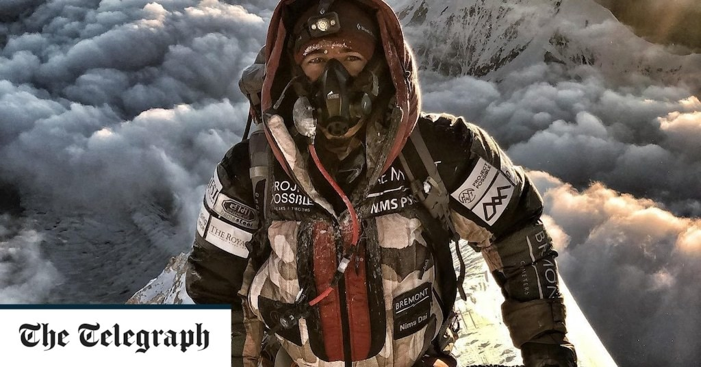 Former special forces soldier sets Himalayas mountain record