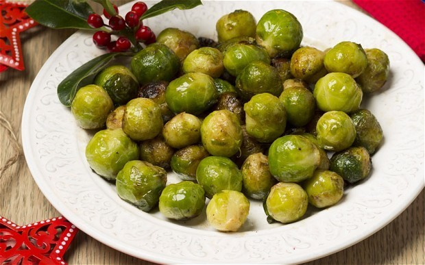Christmas dinner: buttery brussels sprouts recipe