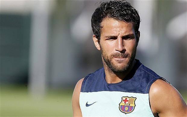 Manchester United ready to make third bid of £35 million for Barcelona's Cesc Fabregas