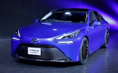 2020 Toyota Mirai revealed: fuel cell concept previews second-generation hydrogen four-door